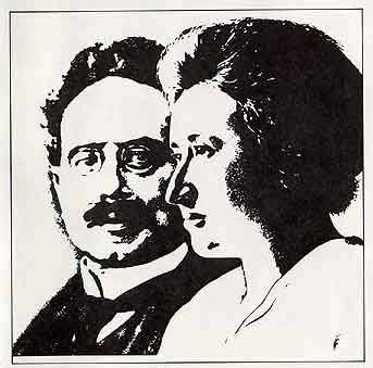 Rosa Luxemburg and Karl Liebknecht