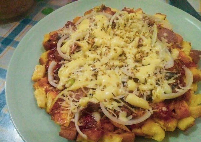 Cara Mudah Memasak Pizza Sarden Ekonomis Anti Gagal