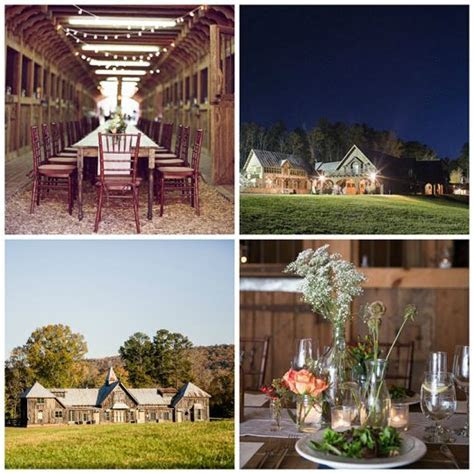 Rustic Chic Barn Wedding Venues in Georgia   The Farm