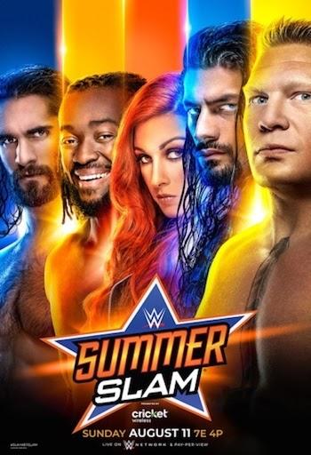 WWE SummerSlam 2019 PPV WEBRip 720p 480p x264 800MB