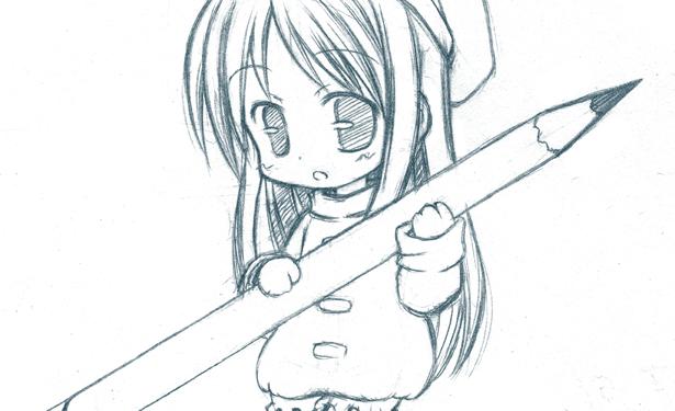 Kawaii Anime Girl Drawing Easy Cute