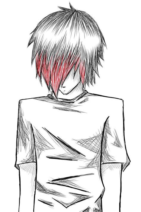 emo boys sketches emo boy  natsumi nyappy
