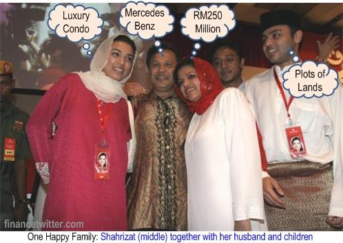 Shahrizat Family NFC Scandal