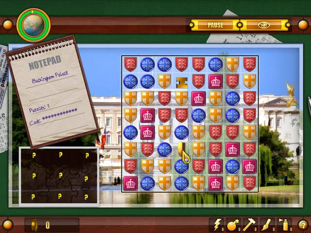 Julia's Quest: United Kingdom Free PC Game Screenshot