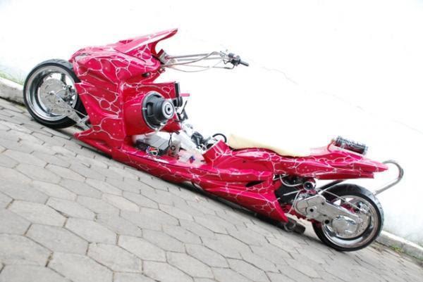Poto Modifikasi Motor Yamaha Gambar Modifikasi Honda Terbaru