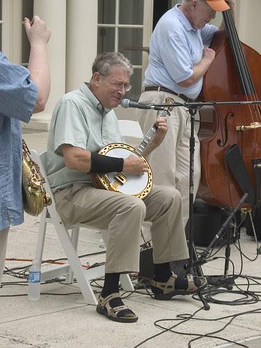 Banjo player (East Coast Ramblers)