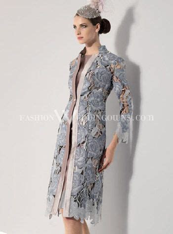 gray winter mother of the bride dresses   Mother of Bride