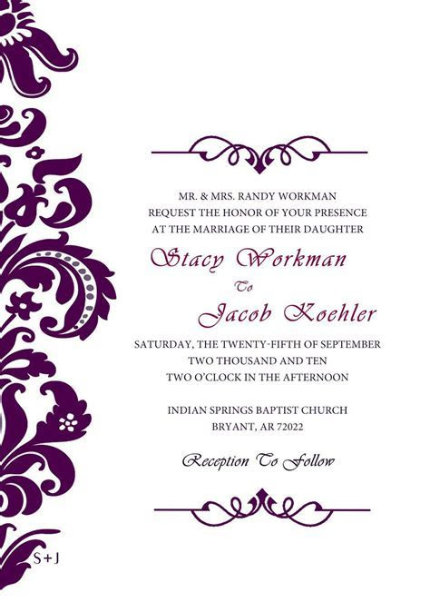 baptism invitations : Free Baptism Invitation Template