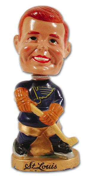 St Louis Blues bobblehead
