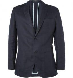 Richard James Slim-fit Linen-blend Suit Jacket