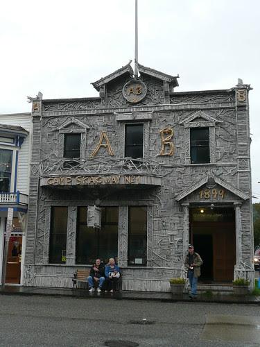 Skagway, Alaska building
