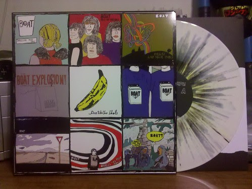 Boat - Dress Like Your Idols LP - White Splatter Vinyl