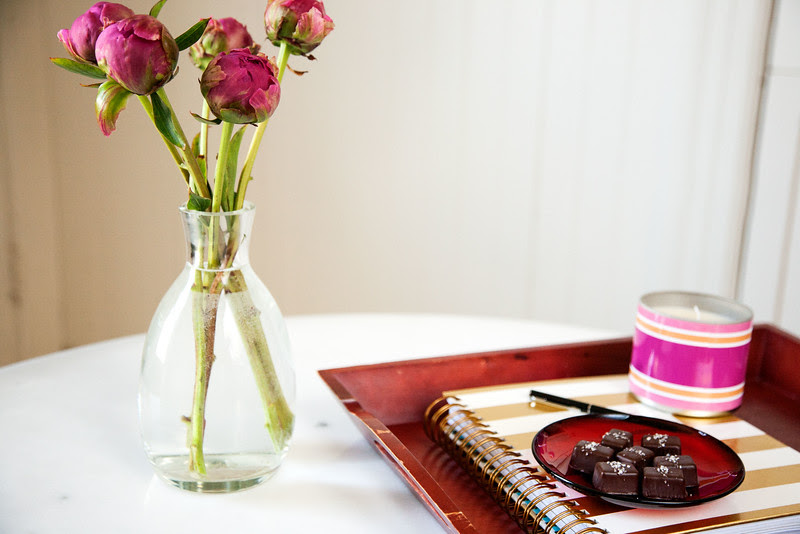 Reviews can be fun. Add fresh flowers, your favorite candle, and some chocolate. Then sit back and reflect.