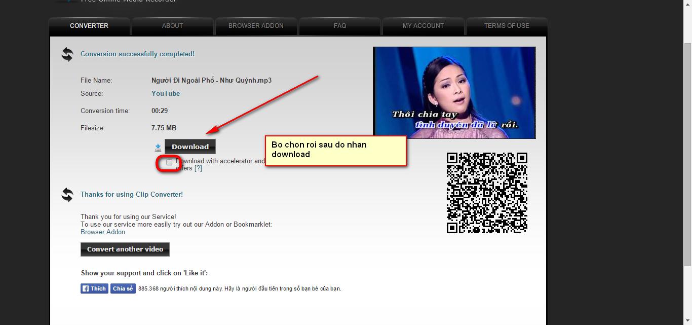 Cách download mp3 từ Youtube trực tuyến chất lượng cao