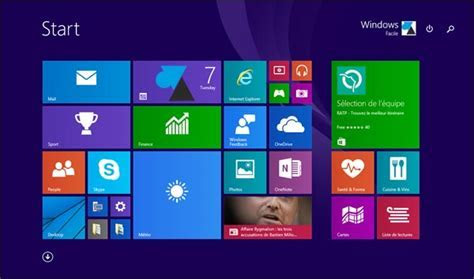 Windows 10 : retrouver l'écran d'accueil de Windows 8