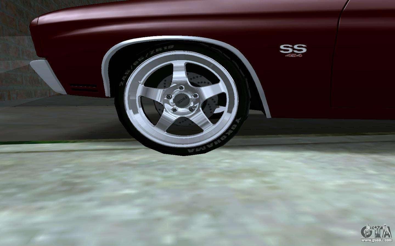 Wheel Pack For Gta San Andreas