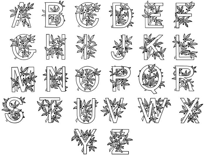 1000+ images about Alphabet on Pinterest | Printable alphabet ...