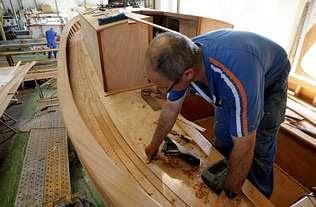 Los carpinteros de ribera ponen sus miras en el mercado europeo