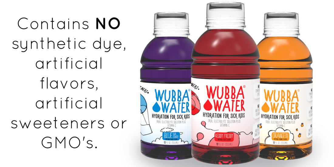 Wubba Water - part of US Japan Fam's Back To School Bonanza!