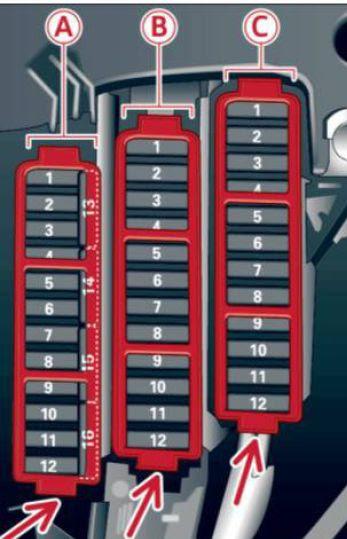 Audi A4 2013 Fuse Box Diagram Auto Genius