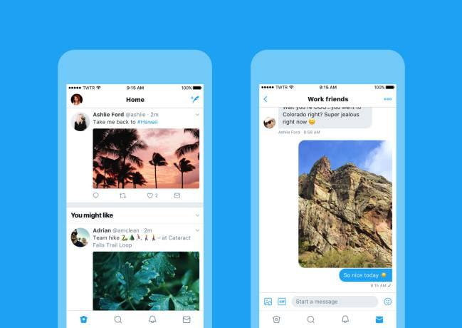 nuevo aspecto twitter