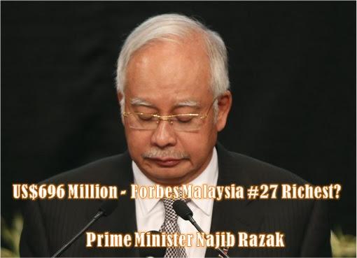 Najib Razak - Forbes Malaysia 27th Richest