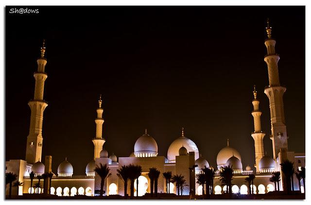 مسجد الشيخ زايد , الإمارات , أبوظبى