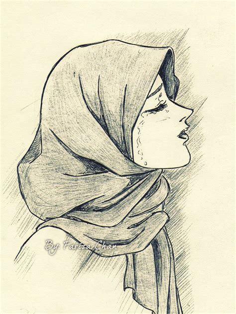 images  sketching hijabis  pinterest