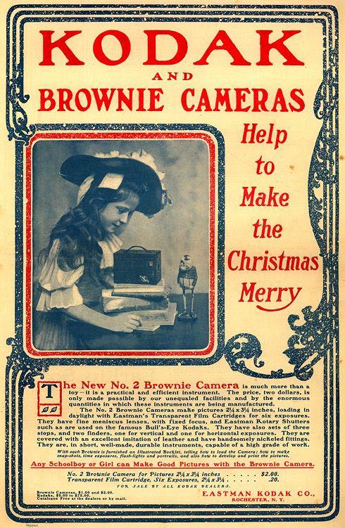 Kodak advert, 1901
