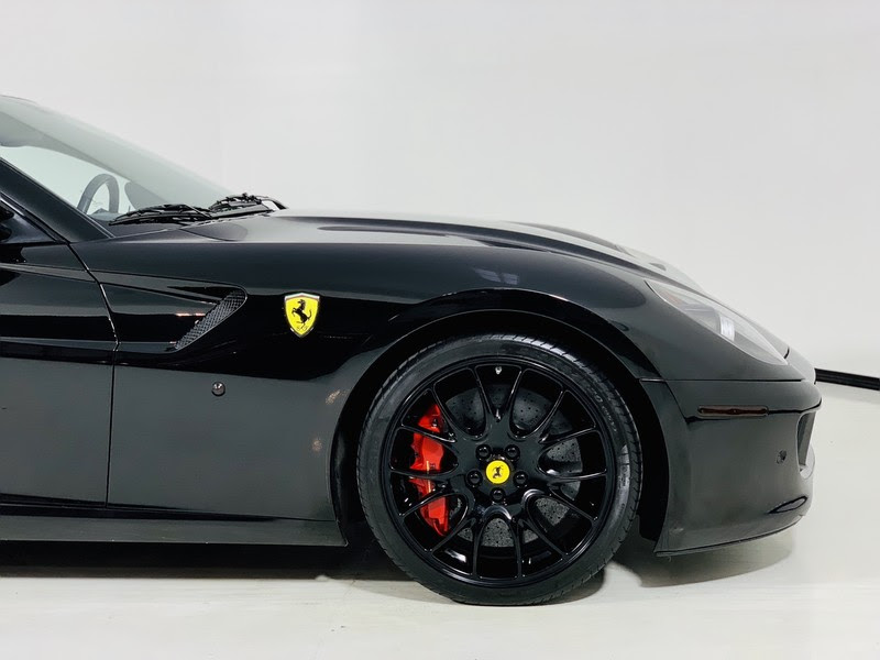 Pre Owned 2008 Ferrari 599 Gtb Fiorano Coupe In Neronero
