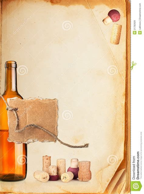 Wine Bar List Menu Royalty Free Stock Images   Image: 21782929