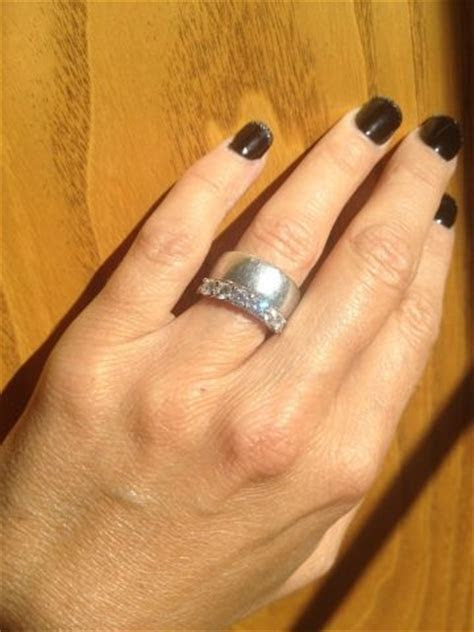 4.5 size finger 5mm wide e ring too thick?   Forum
