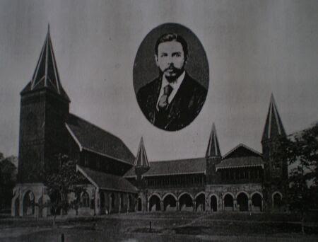 REV. DR. VINTON AND THE VINTON MEMORIAL HALL