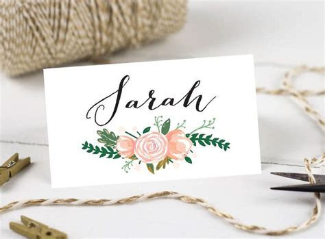 Best 25  Wedding place cards ideas on Pinterest   Name