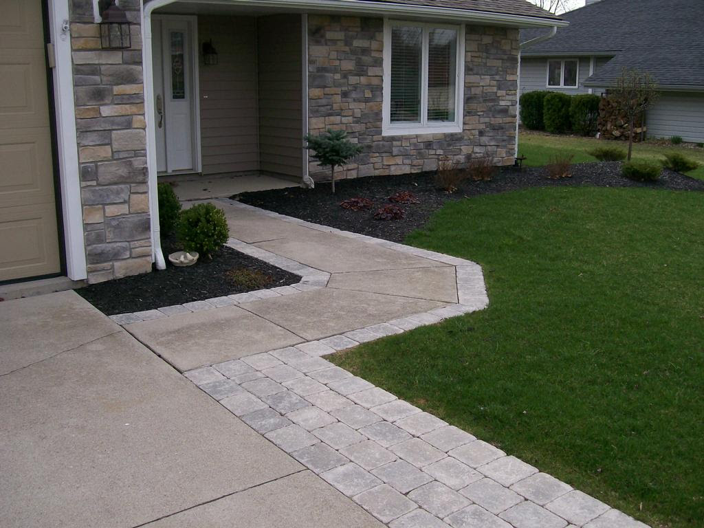 Paver Stones Widen Drive & Walk from Natures Way Landscaping in ...