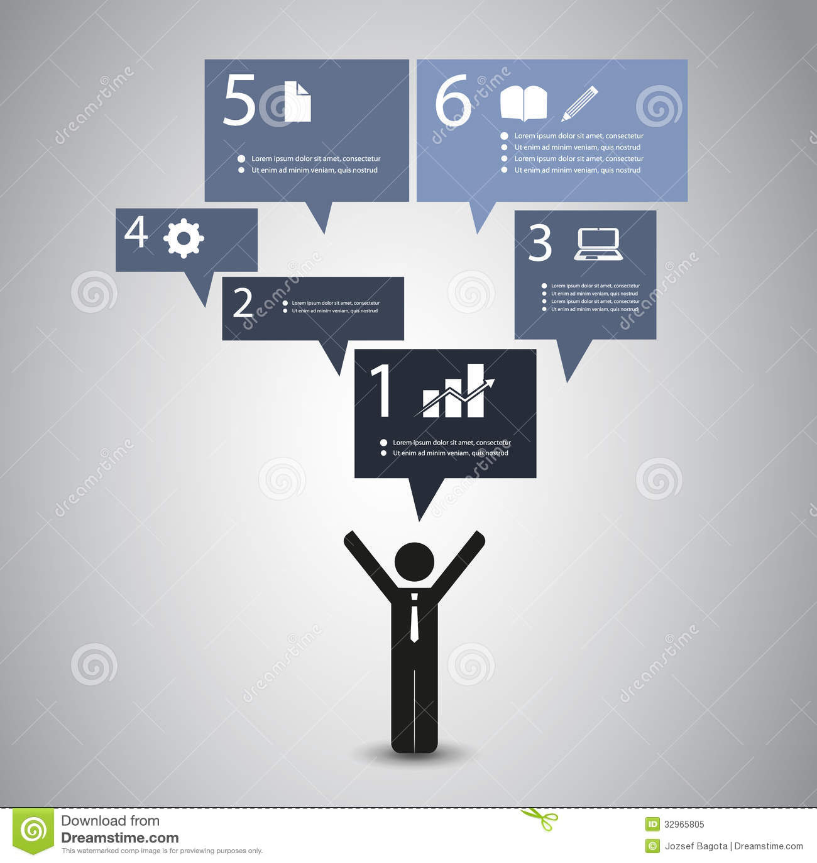 Speech Bubble Concept Royalty Free Stock Photo - Image: 32965805