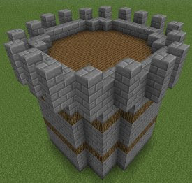 Minecraft Castle Tower Roof Minecraft Castle Map Wallpapers
