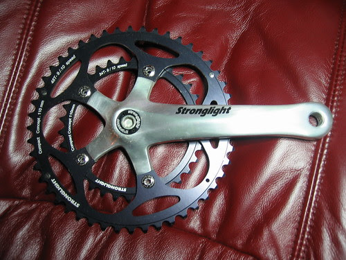 Stronglight Impact compact double crankset