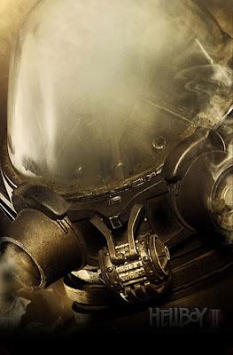 Johann Krauss Hellboy II teaser movie poster