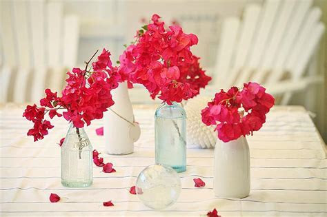 bougainvillea table decor   Google Search   Greek dinner