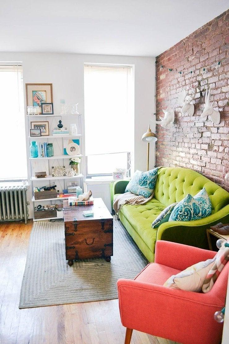 Kleines Wohnzimmer einrichten - 70 frische Wohnideen ...