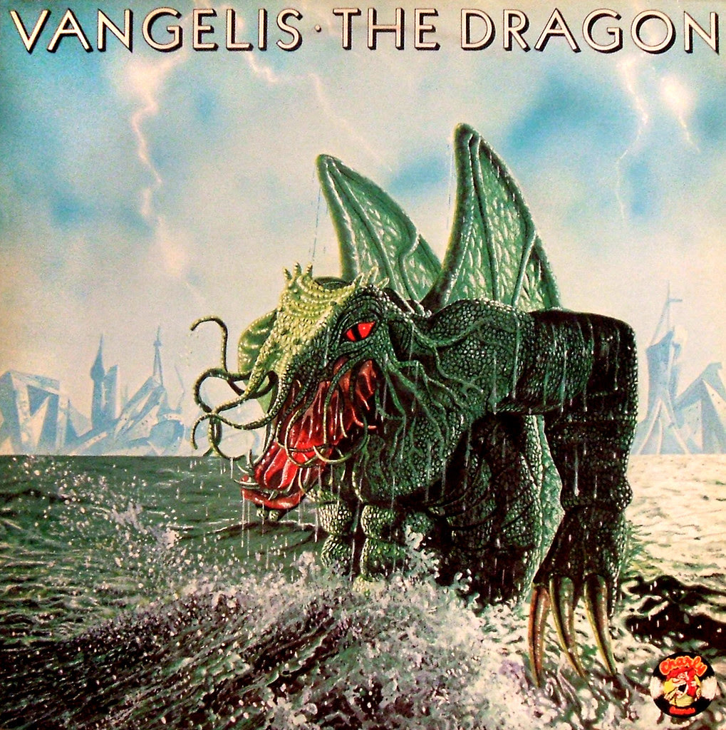Terry Oakes - Vangelis, The Dragon, Album Cover, 1971