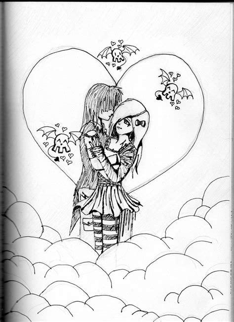sad emo drawing  getdrawingscom   personal