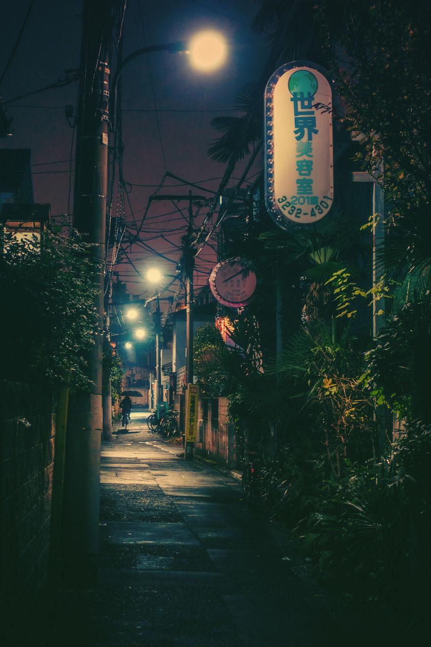 perierga.gr - Οι δρόμοι του Τόκιο τη νύχτα!