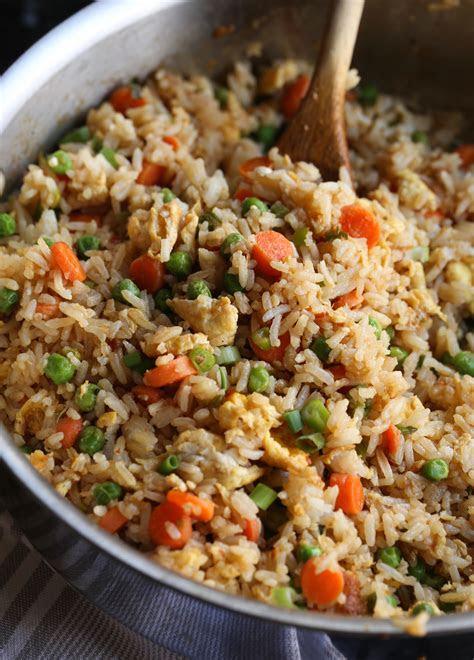 easy fried rice recipe      fried rice