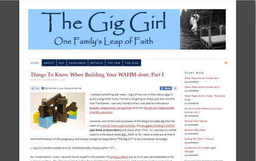 The Gig Girl - One Family's Leap of Faith