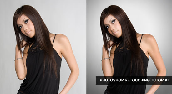 Retouching a Studio Portrait