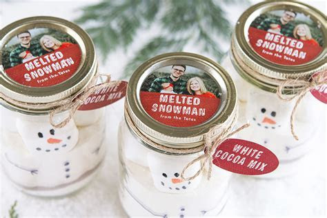 DIY Holiday Gift: Melted Snowman   Party Inspiration