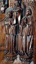 Saint Romain et saint Lupicin - cathédrale de Saint-Claude