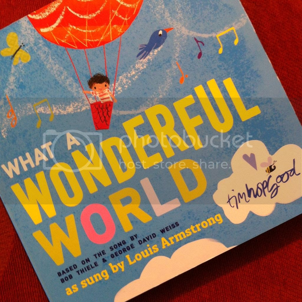 What a Wonderful World by Tim Hopgood